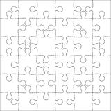 Background Vector Illustration jigsaw puzzle Stock Photography