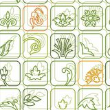 Background vegetable green decor Royalty Free Stock Images