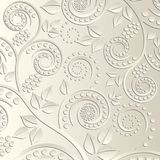 Background. With vegetable ornaments - vector illustration Stock Photography