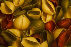Background vegetable pasta Royalty Free Stock Images
