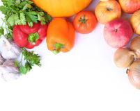 Background with vegetables Royalty Free Stock Images