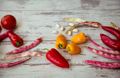 Background of vegetables Royalty Free Stock Photo