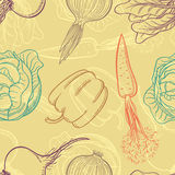 Background with vegetables Royalty Free Stock Photos