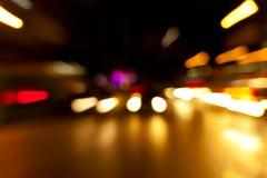 Background of vehicles on dark Royalty Free Stock Image