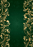 Background with vertical pattern. Decorative template for text, illustration Royalty Free Stock Image