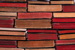 Background of very old books Stock Photography