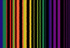 Background of vibrating colored bands, similar to the image of sound waves royalty free illustration