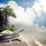 Background-43. Vintage beach background summer style Stock Images