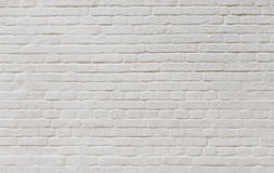 Background of  vintage brick wall covered with white plaster Stock Images