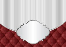 Background. Vintage background with decorative frame Royalty Free Stock Images