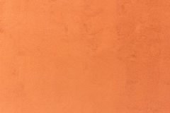 Background of vintage orange color cement Stock Images