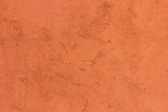 Background of vintage orange color cement Stock Image