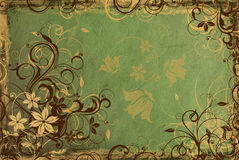 Background from vintage paper Royalty Free Stock Photos