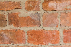 Background of vintage rought brick texture Stock Photography