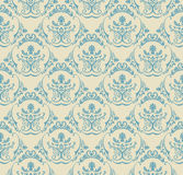 Background vintage. Seamless wallpaper floral Stock Images