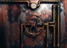 Background vintage steampunk Royalty Free Stock Image