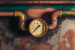 Background vintage steampunk Stock Images