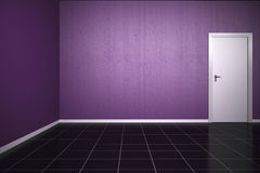 Background Violet Wall Stock Photo