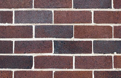 Background Wall. Red bricks Stock Image
