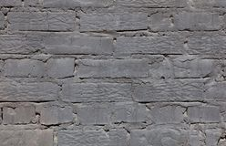 Background wall brick gray, black, bright texture Royalty Free Stock Photography