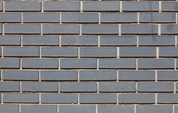 Background wall brick gray, black, bright texture Royalty Free Stock Image