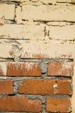 Background wall brick, white, beige texture Stock Photo