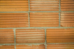 Background wall brick, white, beige texture Stock Photography