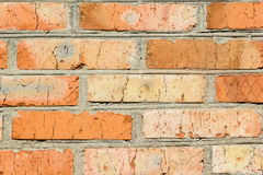Background of a wall from an old brick Stock Photo