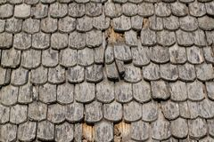 Background wall of the old wood tiles. Stock Image