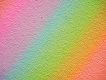Background wall Rainbow Royalty Free Stock Images