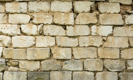Background wall of stone blocks Royalty Free Stock Photo