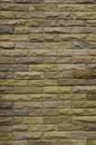 Background, wall. The surface of the rough brick wall Stock Photography
