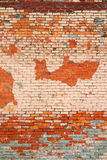 Background Wall Texture of an old section facade Royalty Free Stock Photography