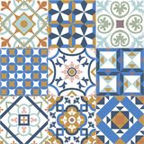 Background for wall tiles, texture. Floor tiles, n Stock Photo