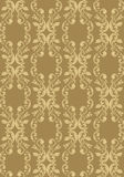 Background wallpaper. Vector vintage Background with foliage Stock Photography