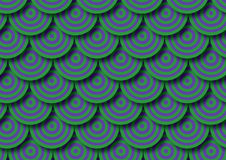 Background and wallpaper of circles Royalty Free Stock Image