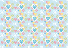 Background.Wallpaper.  I Love You ! Royalty Free Stock Photography
