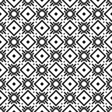 Abstract black and white textured geometric seamless pattern. Background, wallpaper, screen sever, book cover, screen printing, laser cutting designs Vector Royalty Free Stock Photo