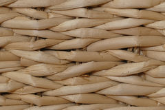 Background wallpapper from woven banana leaves, abstract, close Royalty Free Stock Images