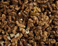 Background of walnuts Royalty Free Stock Images