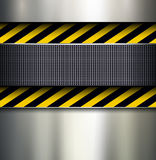 Background with warning stripes Royalty Free Stock Photo