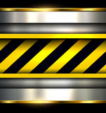 Background with warning stripes Royalty Free Stock Photos