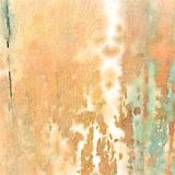 Background water color wood grain texture. In brown and green Stock Photography