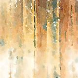 Background water color wood grain texture. In brown and green Royalty Free Stock Photos