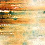 Background water color wood grain texture. In brown and green Stock Photo