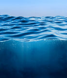 Underwater background Royalty Free Stock Image
