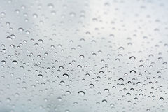 Background of water drop on white shades Royalty Free Stock Photo