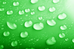 Background of water drops Stock Image