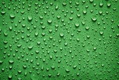 Background of water drops Royalty Free Stock Images
