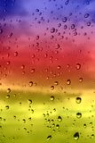 Background with water drops Royalty Free Stock Photos